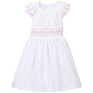 NWT Iris & Ivy White Smocked Waist Dress Easter 4T